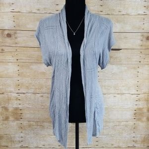 Mossimo Short Sleeve Open Front Cardigan